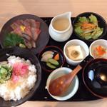 日本酒スローフード 方舟 - 冷汁定食 ランチ
