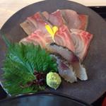 日本酒スローフード 方舟 - ランチのお刺身