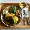 カフェ ド パルファン - 料理写真:オムカレー (♡ >ω< ♡)