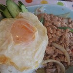 タイ料理研究所 - 夫子のガーパオガイ
