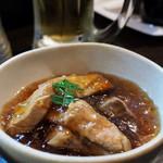 なべいち - おすすめ魚の中落ち煮 230円