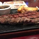 53852801 - 分厚い肉。
