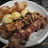 野豚 - 料理写真:ナンコツ、ガツ、シロ、うずらの玉子