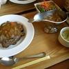 ナラビ - 料理写真:牛肉カレー(ごはん大盛)1100円