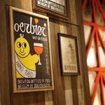 ウルビアマン - 醸造所やこの店舗に住み着くといわれる酵母が店名の由来とのこと。見慣れるとなかなかかわいい。