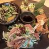 呑々道場 - 料理写真:知覧鶏盛り合わせ