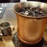 星乃珈琲店 - ◆アイスコーヒー(300円)・・程よい苦みがあり美味しい品。量がタップリなのも嬉しい。
