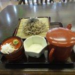 須川高原温泉 - 早速注文したとろろ蕎麦を頂くと、麺には程よくコシがあり また、そばからは蕎麦の香りが強くておいしいです。