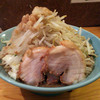 ラーメン慶次郎 - 料理写真:16年3月小ヤサイマシアブラ