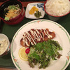 呑ん太 - 料理写真:長州鶏ささみチーズカツ定食