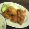 藤食堂 - 料理写真:ジューシーでスパイシーな唐揚げ