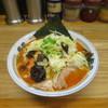 ラーメンハウス河童子 - 料理写真:赤唐麺(麺固め・野菜トッピング)