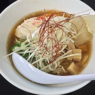 煮干中華そば のじじ - 料理写真:煮干中華冷や(800円)