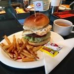Good Morning Cafe&Grill - グッドモーニングバーガープレート!