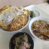 美山 - 料理写真:カツ丼750円
