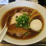 中華そば 煖々 - 料理写真:味玉醤油そば850円