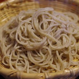 胡蝶庵 仙波 - 料理写真:蕎麦