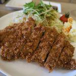 エルフィンルーク - 神戸ポーク150gのとんかつ、食べごたえあり!