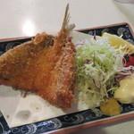 横田酒場 - アジフライ