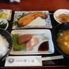 活魚料理仲の坂 - 料理写真:刺身セット定食
