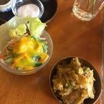 レストラン ディディ - 付け合せ+サラダ