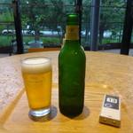 ロハスカフェARIAKE - ハートランドビール:550円