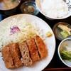 柳ばし - 料理写真:メンチかつ定食 870円 2016/07