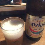 山羊料理さかえ - 瓶ビール