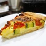 ビスポーク - ズッキーニとチェリートマトのキッシュ
