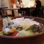 ネーベ・デラ・ルーナ - エスプレッソと胡桃のサラダ