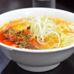 Keyaki - ニラ豆板ラーメン