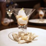 sincere - カリフラワーと雲丹の冷菜