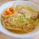 麺堂稲葉クキスタイル - とろとろ味たまごと穂先メンマ