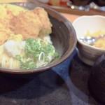元咲 - 料理写真:かぼちゃと筍のぶっかけ冷