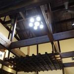 田むら 銀かつ亭 - (2016/6月)新館店内(天井)