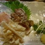 やきとり五つぼ - 料理写真:鶏刺し