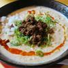 麺道 しゅはり - 料理写真:禁断の担々麺 大盛りデフォ。ラー油の回しグッド