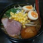 Toragasu - 料理写真:味玉味噌ラーメン
