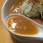 53976287 - 濃厚味噌ラーメン スープアップ