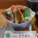 日の出ひの寿司 - 料理写真:【ランチメニュー】海鮮丼
