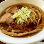 麺家 西陣 - ひやし和風ラーメン700円