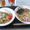 浜田屋食堂 - 料理写真:ラーメン&チャーハンセット(500円)
