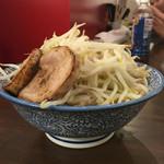 龍麺 ふえ郎 - ミニに野菜後コール ¥640-  2016.7.23 Sat.