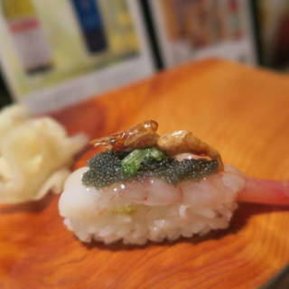弘寿司 - 料理写真:海老握り