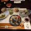 紗々羅 - 料理写真:食前酒から『頂きます』。
