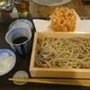 まる伍 - 料理写真:桜えびのかき揚げせいろ(十割)