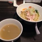 麺道 しゅはり - 海老潮つけ麺@2016/07/24