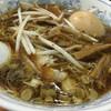 丸福 - 料理写真:玉子そば830回