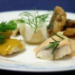 レストラン ストックホルム - ニシンのマリネ