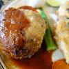 洋食屋満里奈 - 料理写真:とある日の日替わりランチのハンバーグ